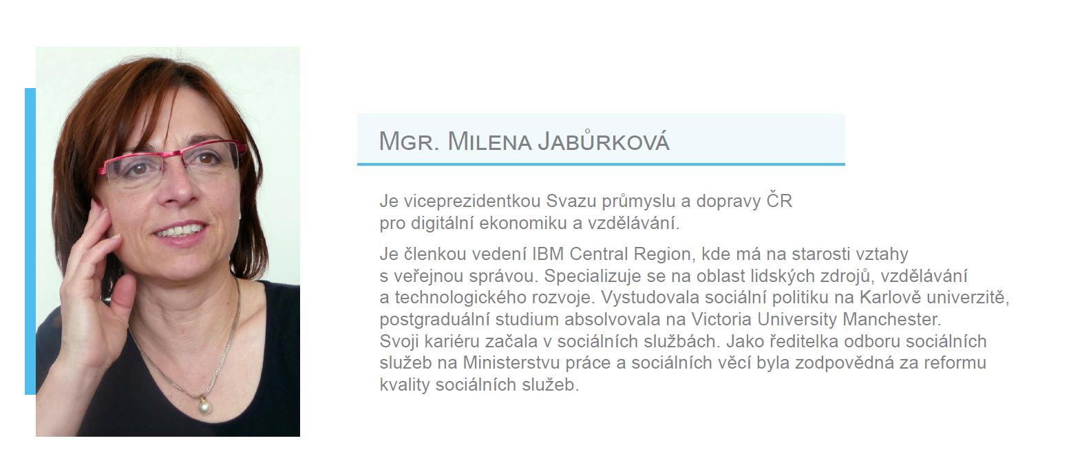 Členka EES - Mgr. Milena Jabůrková
