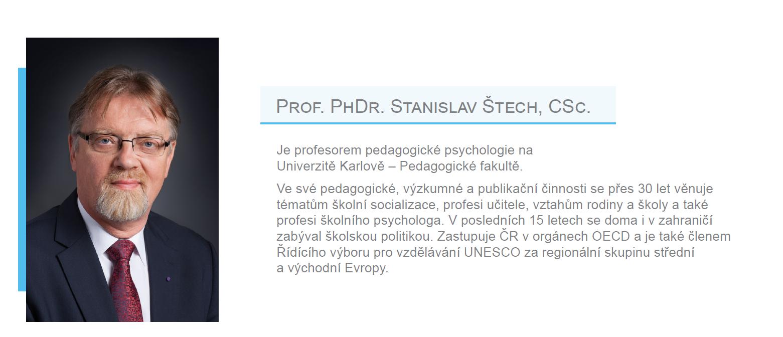 Člen EES - prof.Stanislav Štech