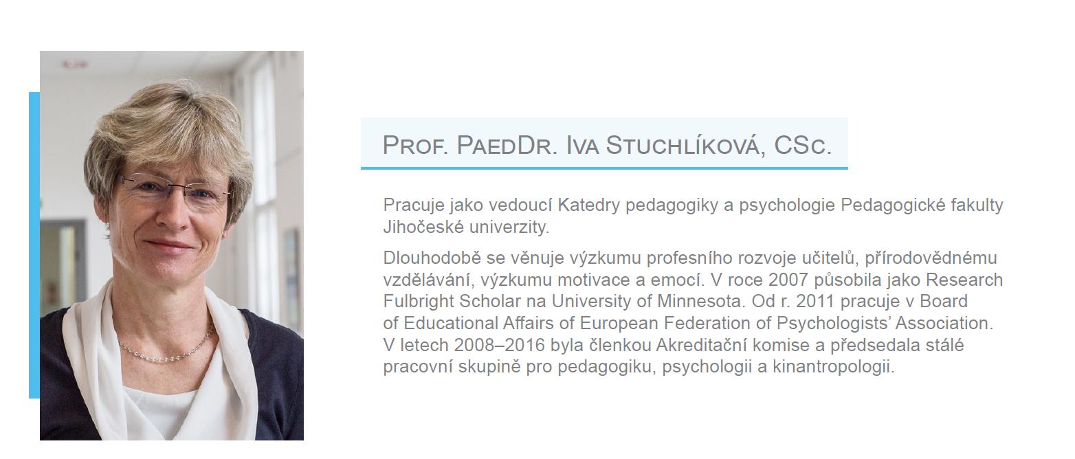 Členka EES - prof.Iva Stuchlíková