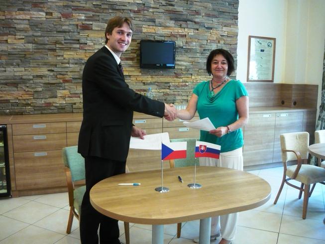 Podpis česko-slovenského protokolu 1
