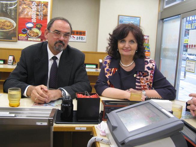 Miroslava Kopicová v Japonsku