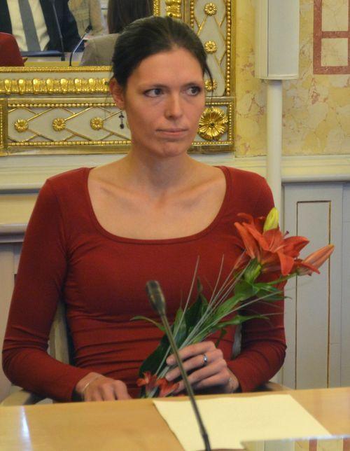 Oceněná Ing. Milena Zachariášová, Ph.D.