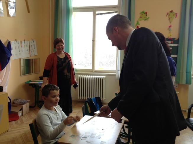 Návštěva školy pro sluchově postižené