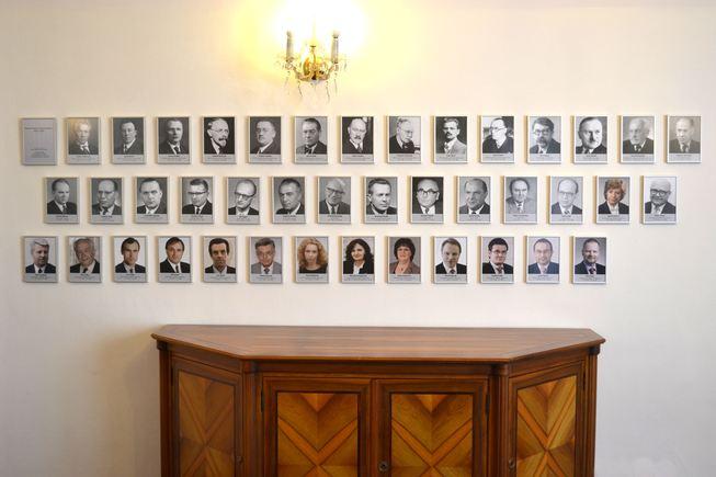 galerie ministrů