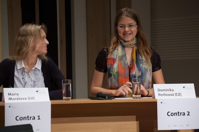 Mladí debatéři v Budapešti