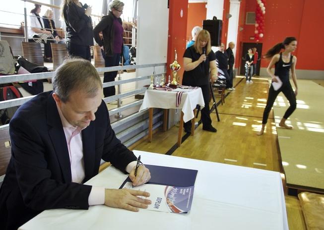 ministr v Karlových Varech