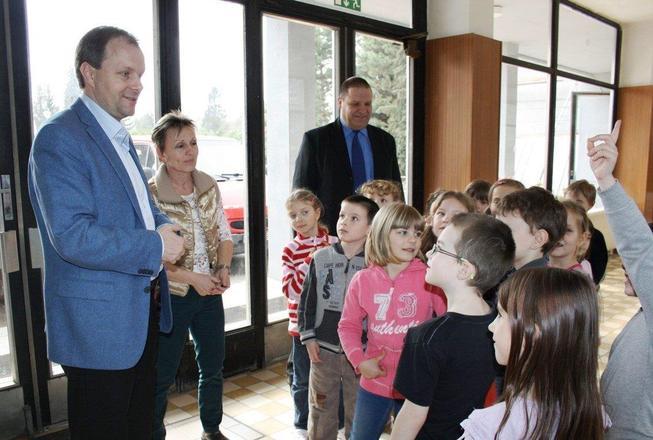 ministr v Poděbradech