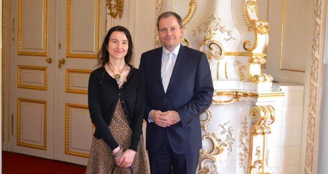 ministr a Jan Thompson