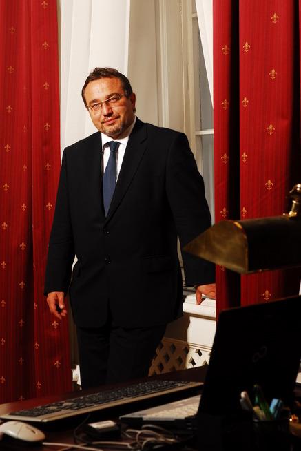 Ministr Josef  Dobeš v úřadu I.