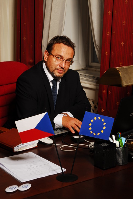 MInistr Josef Dobeš v úřadu IV.