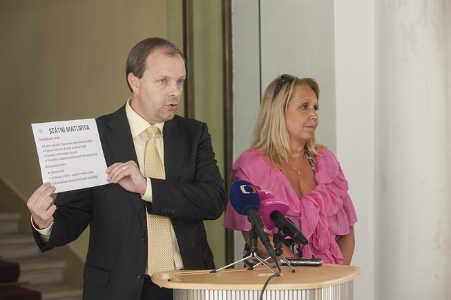 Marcel Chládek a Radka Wildová