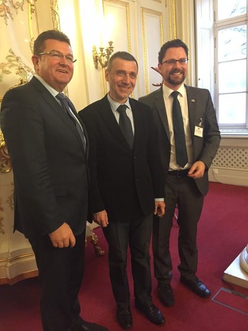 Náměstek pro vzdělávání Jaroslav Fidrmuc s delegací