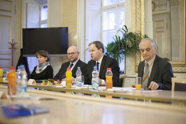 Ministr školství, mládeže a tělovýchovy Marcel Chládek