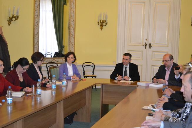 Náměstek Fidrmuc - ukrajinská delegace