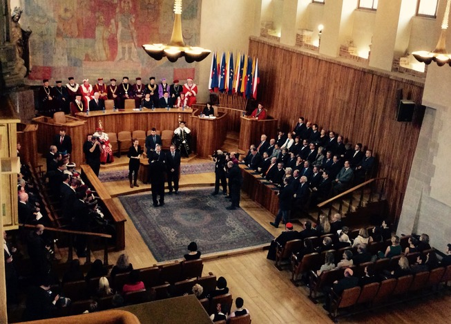 jmenování profesorů 18.12.2014
