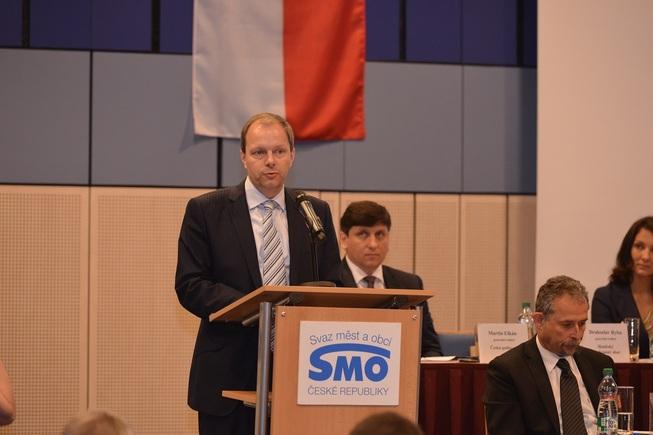 Ministr Chládek na Sněmu