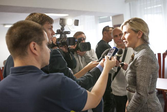 Kateřina Valachová v Ostravě