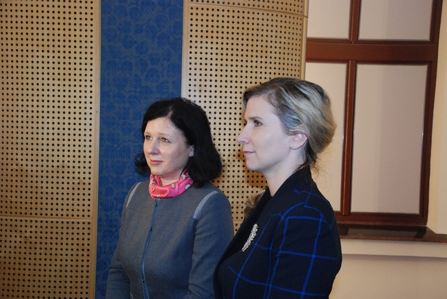 PM a V. Jourová