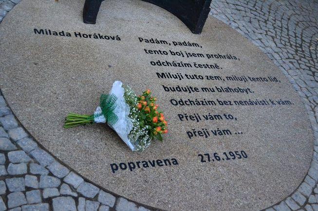 Milada Horáková - památník 2