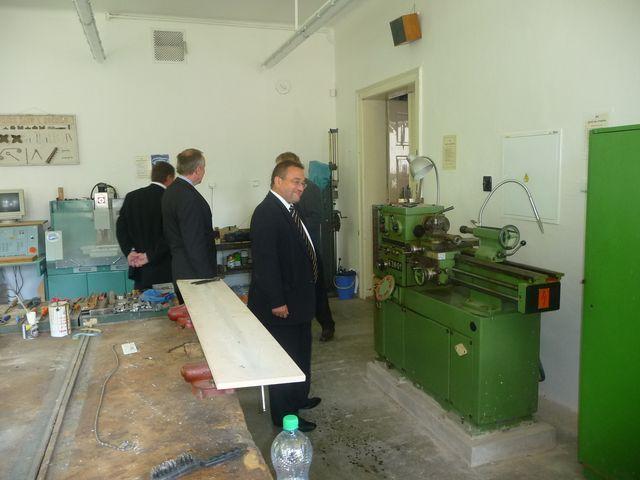 Ministr na návštěvě v Karlovarském kraji