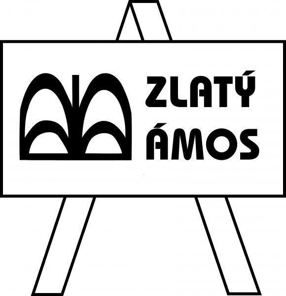 Zlatý Ámos - logo