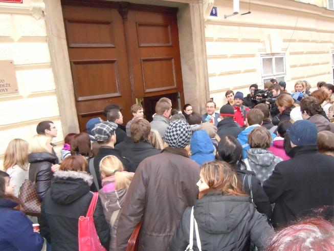 Setkání se studenty z Plzně