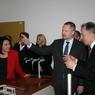 Ministr Fiala ve Vídni