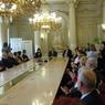 Ministr Dobeš předává Medaile MŠMT