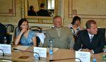 Zahájení projektů programu ERC CZ ve Velkém zrcadlovém sále MŠMT.