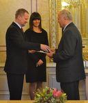 Medaili MŠMT I. stupně obdržel PhDr. Miloslav Frömer.