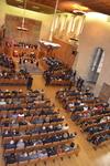 Slavnostní ceremoniál v aule Karolina