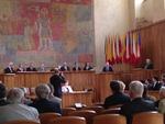 Ministr Fiala při projevu na XIX. valném shromáždění Učené společnosti ČR