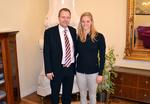 ministr a plavkyně Baumrtová