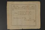 Vysvědčení z roku 1803
