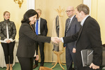 Ministr Marcel Chládek a eurokomisařka Věra Jourová 2