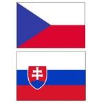 vlajky CR a SR