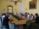 MInistr přijal žáky a učitele z Českých Budějovic