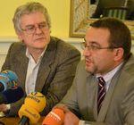 Ministr s Václavem Mertinem
